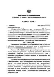 Банкротство физических лиц в Хабаровске. Проблемные долги граждан. Хабаровск.